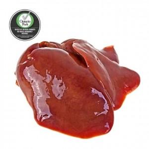 全自然猪肝3磅 无激素荷尔蒙