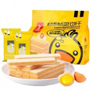 咔啰卡曼 威化饼干 咸蛋黄味