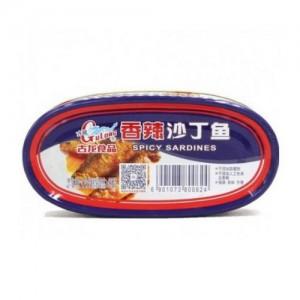 古龙 香辣沙丁鱼