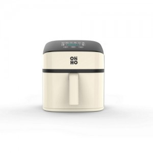 OHHO 7.5L 空气炸锅 数字款 奶油色
