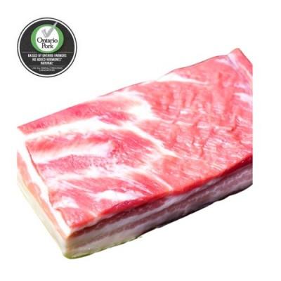 全自然猪五花肉 猪腩 五花腩 2磅装 - $7.99/磅