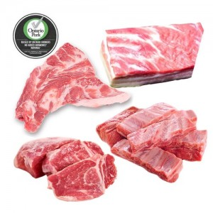 全自然猪肉套餐 送全自然猪肉碎2磅
