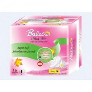BelleSun 超薄瞬吸极软绵柔网面护翼型日用卫生巾