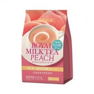 日东红茶 白桃奶茶 10支装