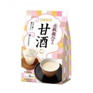 日东红茶 七谷麹入甘酒奶茶 冷热饮 8支装
