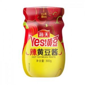海天辣黄豆酱 800g